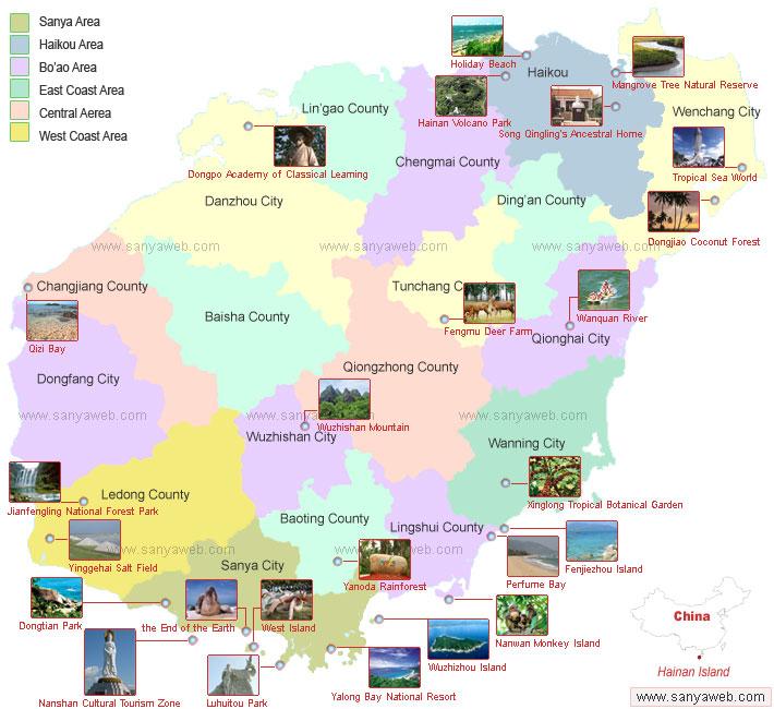 Hainan Island On Map