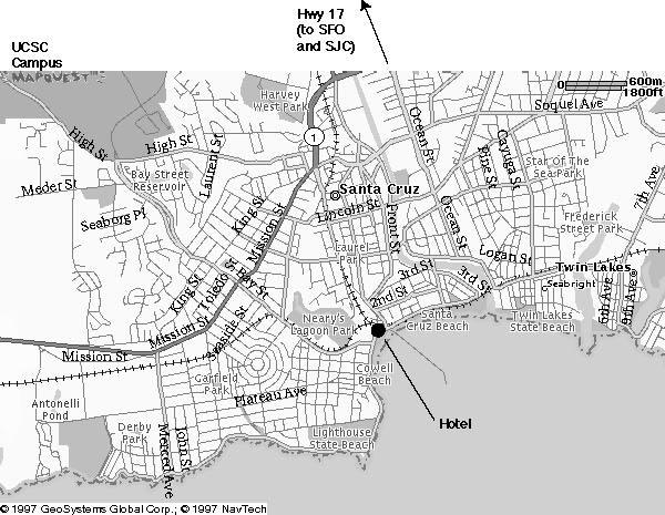 Uc Santa Cruz Campus Map Pdf.Contact And Directions Ucsc Hydrogeology